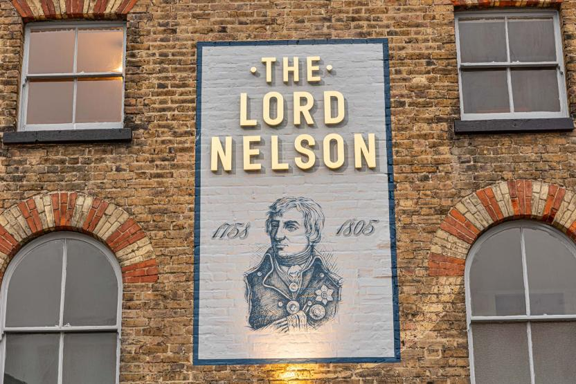 Lord Nelson Dover refurbished